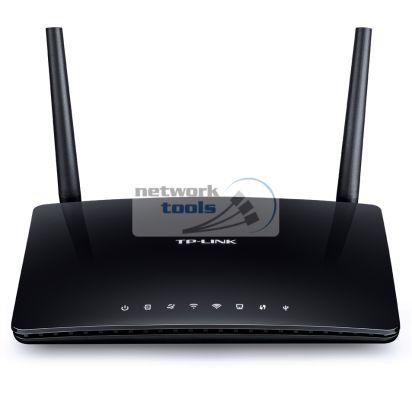 TP-Link Archer D50 Двухдиапазонній Wi-Fi роутер с ADSL2+ модемом AC1200