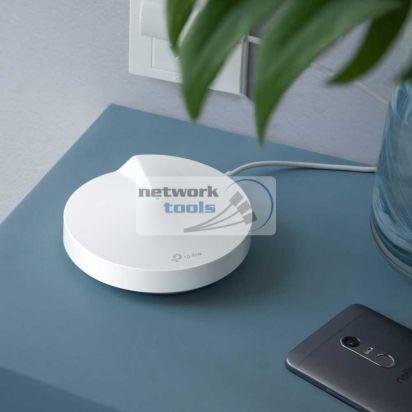 TP-Link Deco P7 (1-pack) Домашняя гибридная Mesh Wi-Fi система 1-шт AC1300+AV600