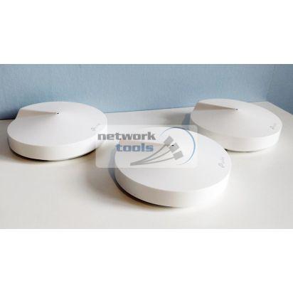 TP-Link Deco P7 (3-pack) Домашняя гибридная Mesh Wi-Fi система 3-шт AC1300+AV600