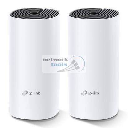 TP-Link DECO-M4-2-PACK Двухдиапазонная Mesh система 2-шт Wi-Fi 802.11ac