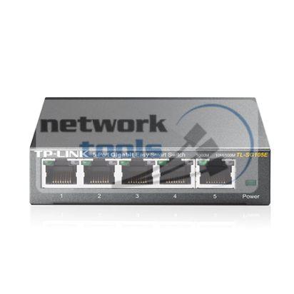 TP-Link TL-SG105E Коммутатор Easy Smart 5-портовый 1Гбит