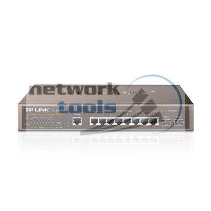 TP-Link TL-SG3210 (T2500G-10TS) Коммутатор 8-порт по 1000Base-TX, 2xSFP