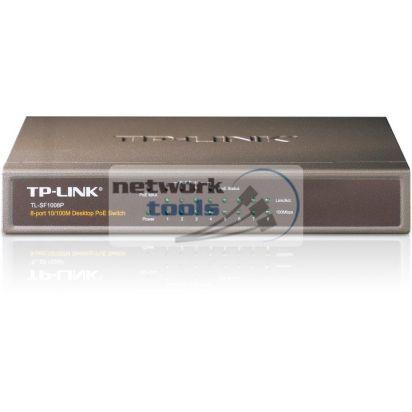 TP-Link TL-SF1008P Коммутатор неуправляемый 8-портовый 100Мбит PoE