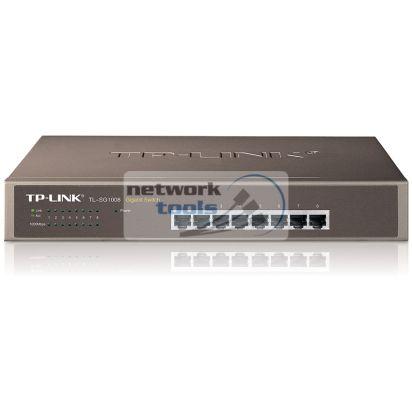 TP-Link TL-SG1008 Коммутатор неуправляемый 8-портовый 1Гбит