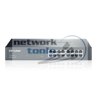 TP-Link TL-SG1016D Коммутатор неуправляемый 16-портовый 1Гбит