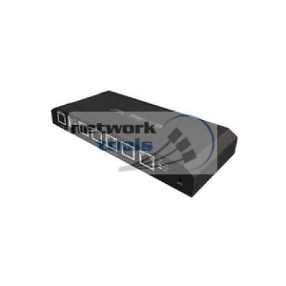 Ubiquiti TOUGHSwitch 5PoE Коммутатор 5 порт 1000Base-TX выдают PoE 24V для UBNT