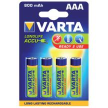 VARTA Аккумулятор LONGLIFE ACCU AAA 800mAh