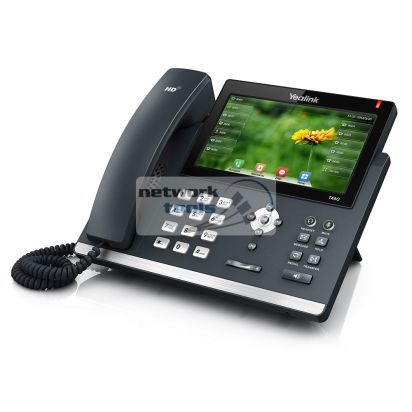Yealink SIP-T48G SIP-телефон с LCD дисплеем, POE