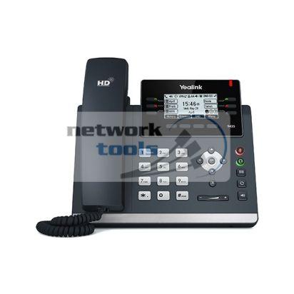 Yealink SIP-T42S SIP-телефон с LCD дисплеем, POE