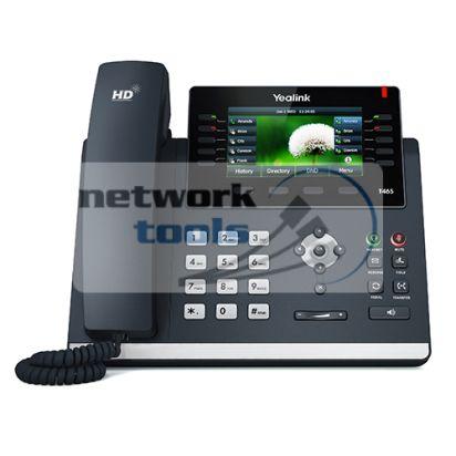 Yealink SIP-T46S SIP-телефон с LCD дисплеем, POE