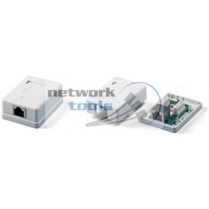 NETS MB-STP1 Розетка STP 1 порт напольная RJ45