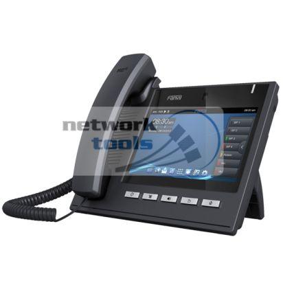 Fanvil C600 VoIP-телефон с LCD дисплеем, SIP, POE, 6 линий