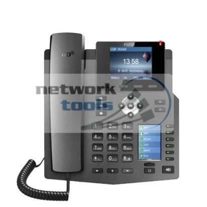 VoIP-телефон Fanvil X4G, SIP, PoE, 4 линии, HD аудио