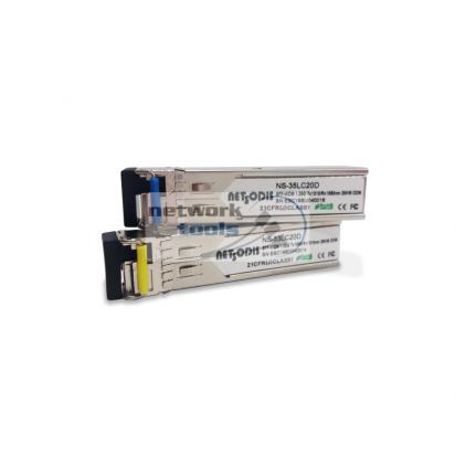 Netsodis NS-3553LC20D Пара модулей SFP 1.25G KIT, LC разъём