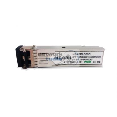 Netsodis NS-85DLC05D Модуль SFP 1.25G Multi Mode, тип LC
