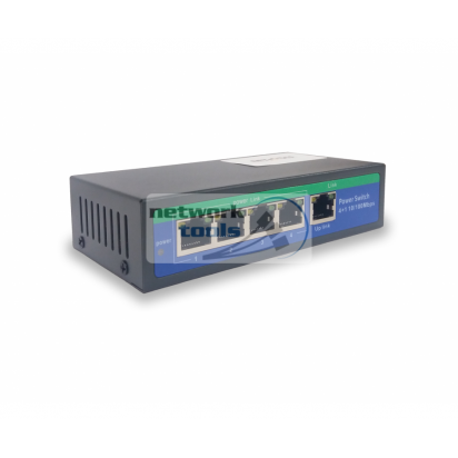 NETSODIS PS105-24V Коммутатор неуправляемый 5-портовый 100M PoE-24V