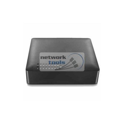 Netsodis SF116 Коммутатор неуправляемый 16-портов 100 Мбит
