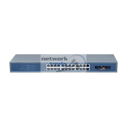 Netsodis SF124 Коммутатор неуправляемый 24-порта 100 Мбит