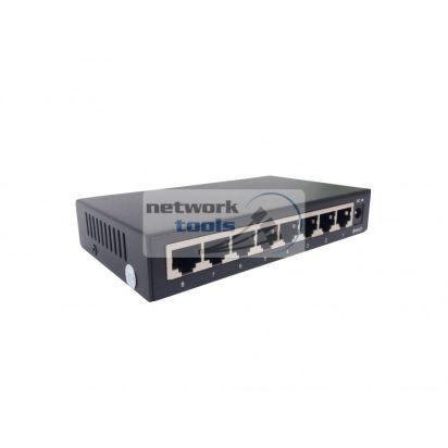 Netsodis SG108 Коммутатор неуправляемый 8-порт, 1000 Мбит