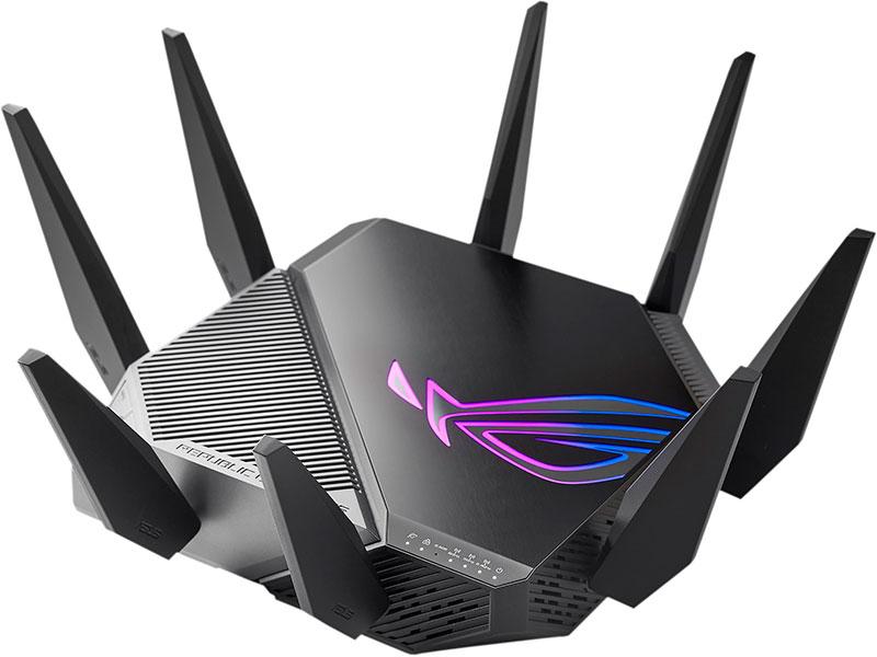 Игровой роутер ROG Rapture GT-AXE11000 стандарта Wi-Fi 6E