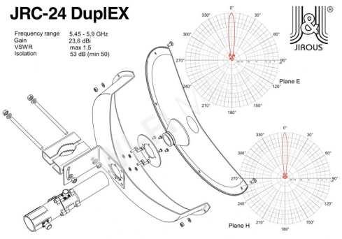 jiRous JRC-24 Duplex