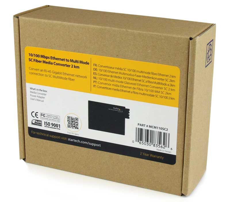 Медиаконвертер для сетей Fast/Gigabit Ethernet